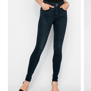 Express High-Rise Perfect Curves Legging Jeans